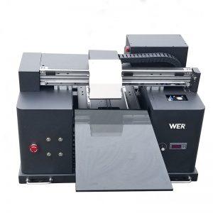 2017 billig A4-bordsbordstablett UV-ledet flatbed digital skriver WER-E1080UV