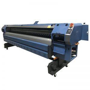 3.2m Konica 512i skrivehode digital vinyl flex banner løsemiddel skriver / plotter / utskrift maskin WER-K3204I