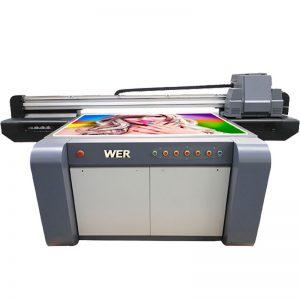 3D effekt UV flatbed skriver, keramikk skriver, fliser utskrift maskin i Kina WER-EF1310UV