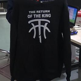 Svart genserprøve av A2 t-skjorte-skriver WER-D4880T