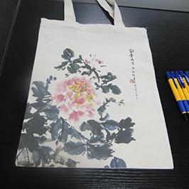 Lommebok utskrift prøve av A2 t-skjorte skriver WER-D4880T