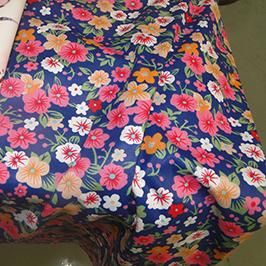 Digital tekstil utskrift prøve 1 av digital tekstil skriver WER-EP7880T