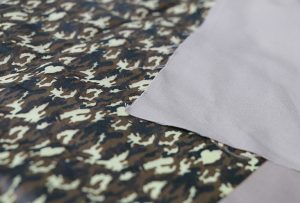 Tekstilutskrift 1 ved digital tekstilmaskin WER-EP7880T