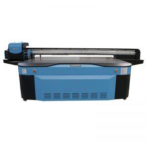 UV digital flatbed utskrift maskin stort format 2500X1300 WER-G2513UV