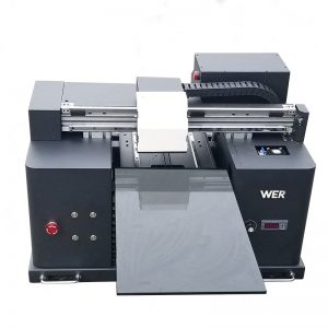 billig pris A3 størrelse DTG digital flatbed T-skjorte direkte til plaggetrykker WER-E1080T