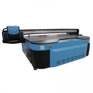 God kvalitet UV flatbed printer for vegg / keramisk fliser / bilder / akryl / treutskrift WER-G2513UV