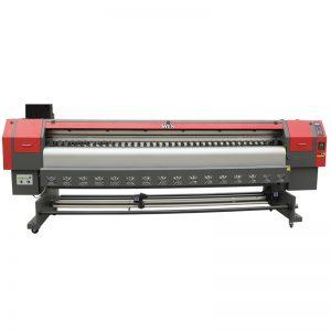 høyhastighets 3,2m løsningsmiddel skriver, digital flex banner utskrift maskin pris WER-ES3202