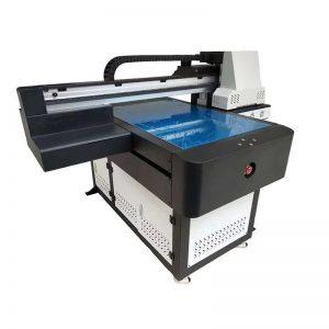 høyhastighets UV flatbed skriver med led UV-lampe 6090 utskriftsstørrelse WER-ED6090UV